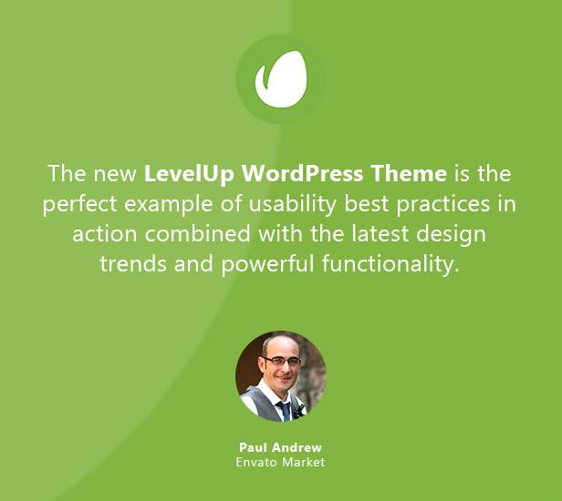 LEVELUP - Responsive Creative Multipurpose WordPress Theme - 3