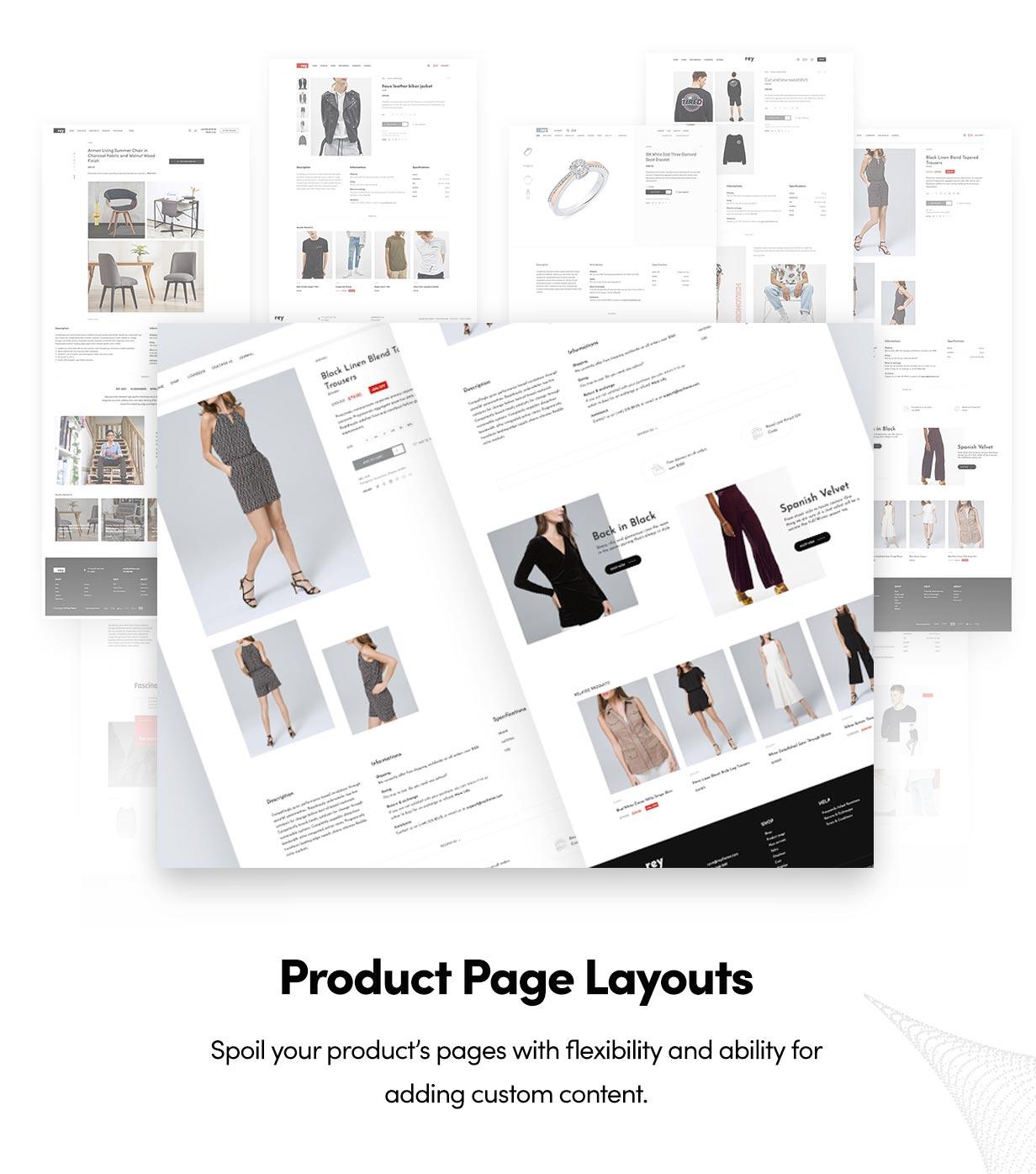 Rey - Fashion & Clothing, Furniture - 13