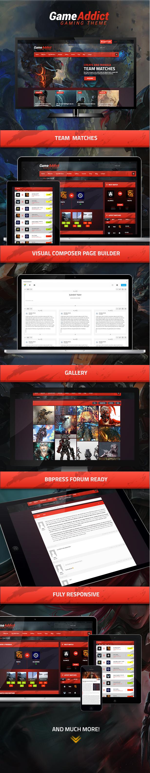 Game Addict - Clan War Gaming Theme - 2