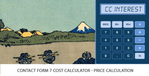 Contact Form 7 Cost Calculator