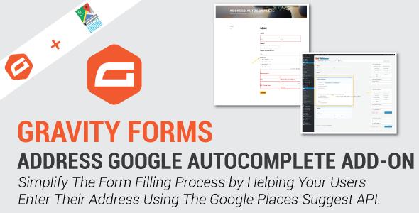 Gravity Forms Address Google Autocomplete