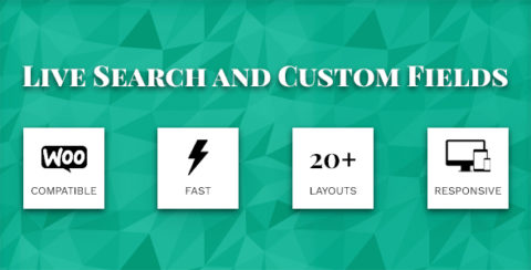 Live Search and  Custom Fields - WordPress Filter, search & WooCommerce Product Filter