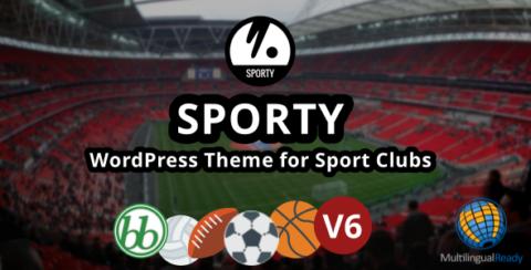 SPORTY-Responsive WordPress Theme for Sport Clubs