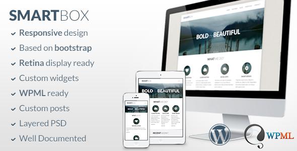 SmartBox - Responsive WordPress Bootstrap Theme