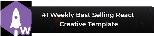 Trydo - React Creative Agency and React Portfolio Template - 1