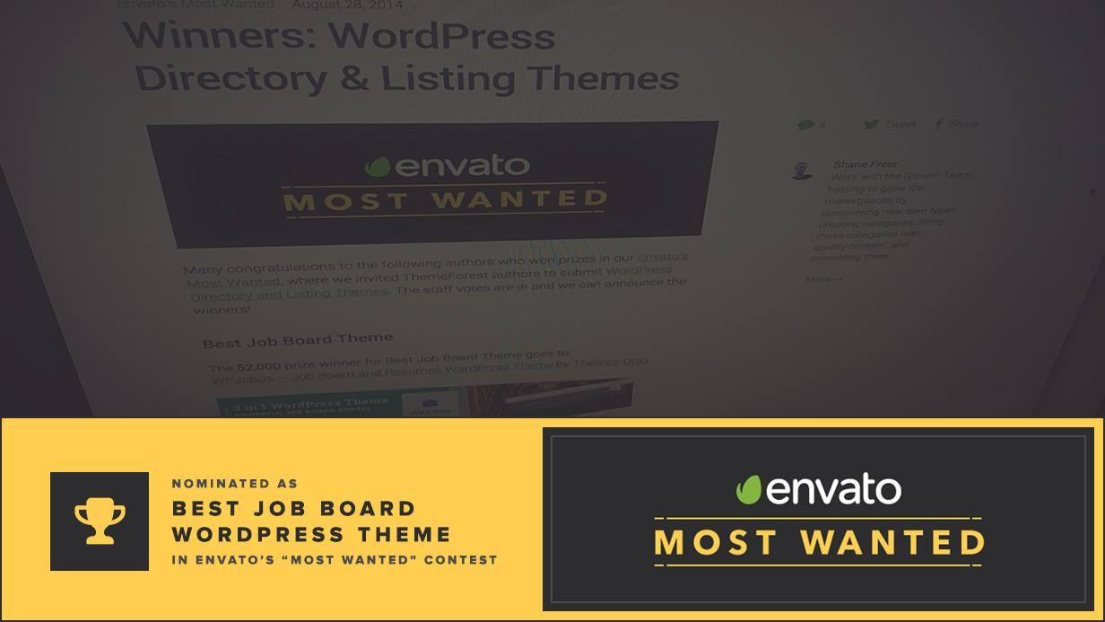 WPJobus - Job Board and Resumes WordPress Theme - 1