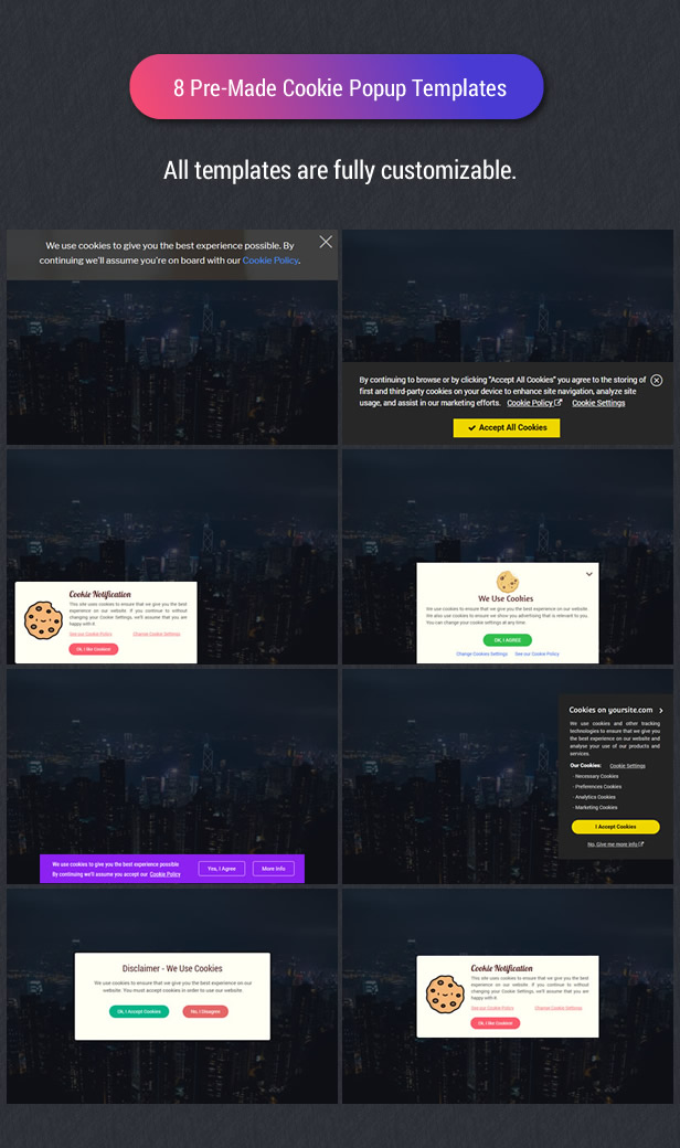 Cookie Plus GDPR - Cookies Consent Solution for WordPress. Master Popups Addon - 14