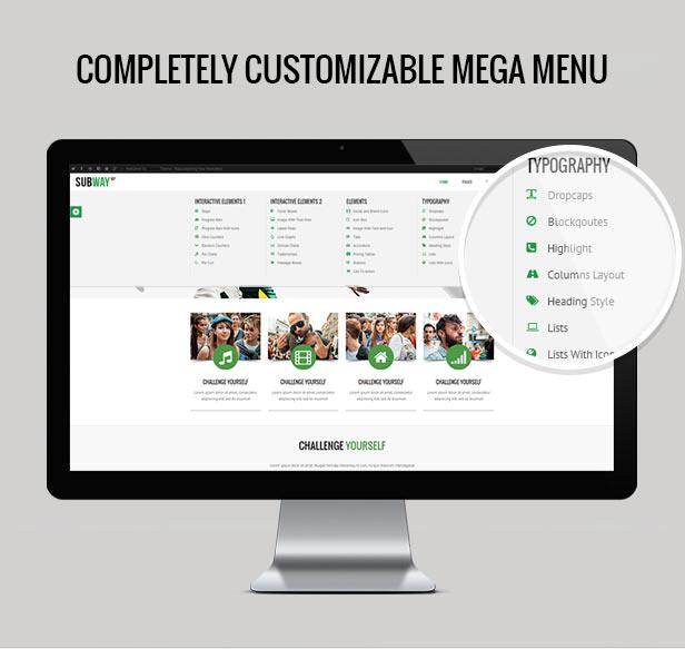 Subway - Responsive Multi-Purpose WordPress Theme - 2
