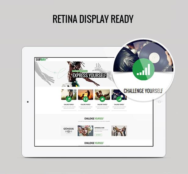 Subway - Responsive Multi-Purpose WordPress Theme - 4
