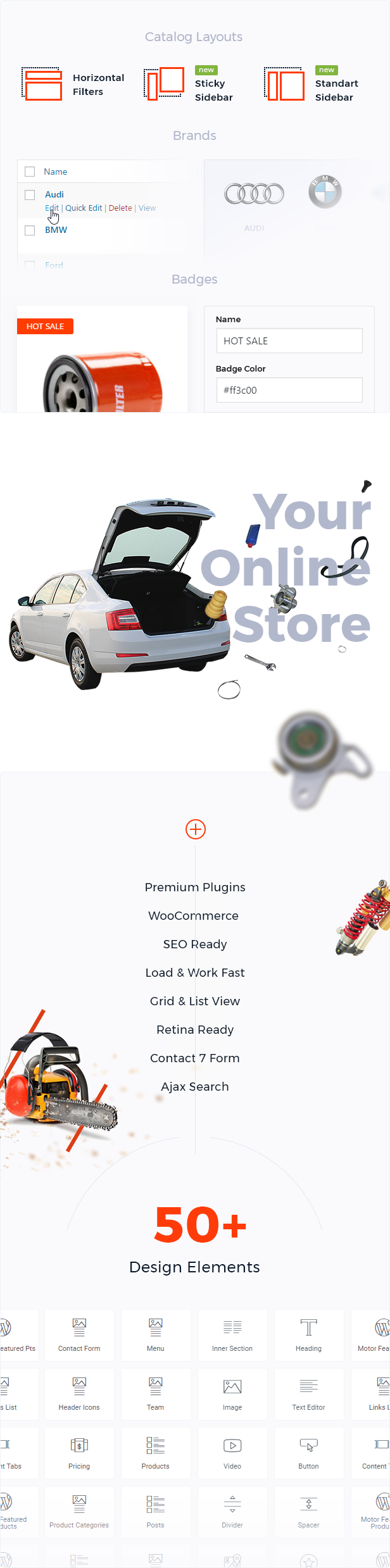 Motor – Cars, Parts, Service, Equipments and Accessories WooCommerce Store - 4