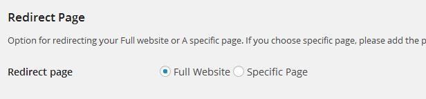 RedirectPlus - WordPress Mobile Redirect Plugin - 2