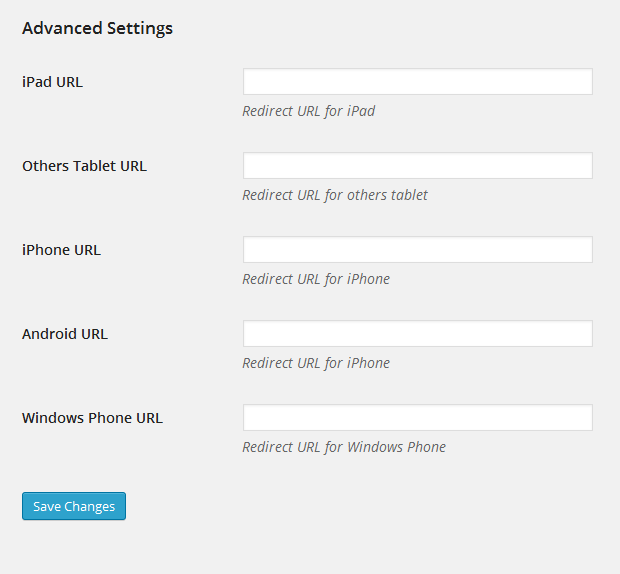 RedirectPlus - WordPress Mobile Redirect Plugin - 4