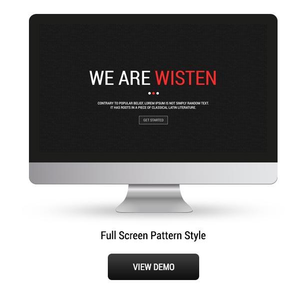 Wisten - One Page Parallax Theme - 5