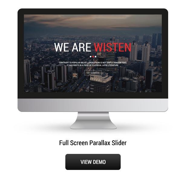 Wisten - One Page Parallax Theme - 6
