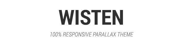Wisten - One Page Parallax Theme - 3