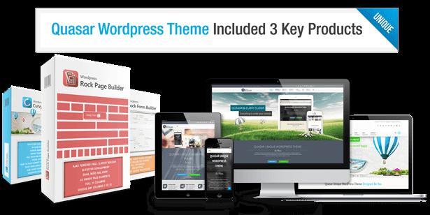Quasar - WordPress Theme with Animation Builder - 5