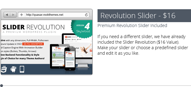 Quasar - WordPress Theme with Animation Builder - 26