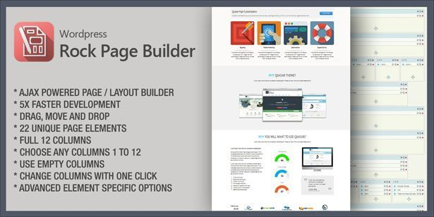 Quasar - WordPress Theme with Animation Builder - 8