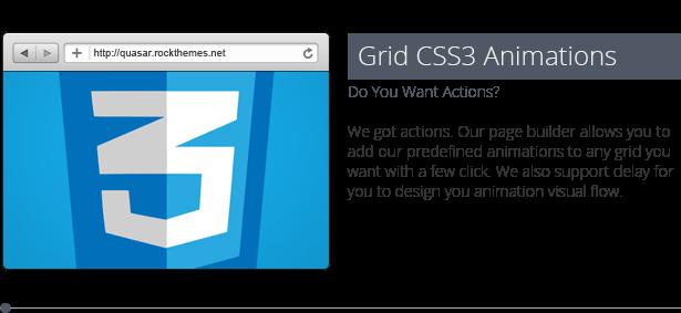 Quasar - WordPress Theme with Animation Builder - 22