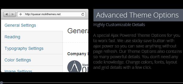 Quasar - WordPress Theme with Animation Builder - 17