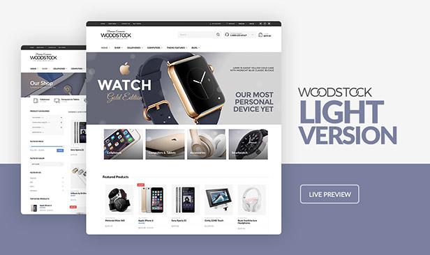 Woodstock - Electronics Store WooCommerce Theme - 4