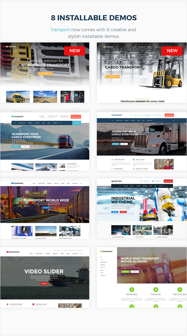 Transport - WP Transportation & Logistic Theme - 4