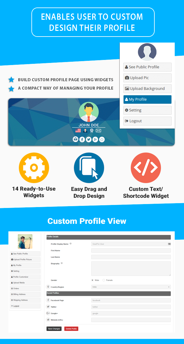 UserPro Dashboard - 3