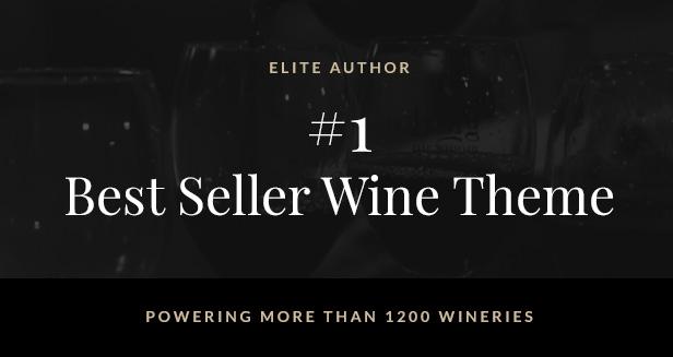 Villenoir - Vineyard, Winery & Wine Best Seller Wine Theme