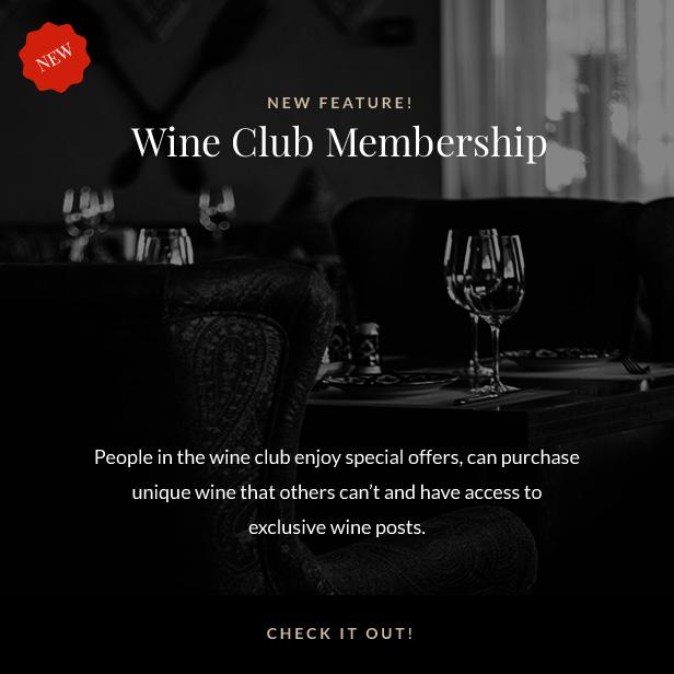 Villenoir - Vineyard, Winery & Wine Shop New features