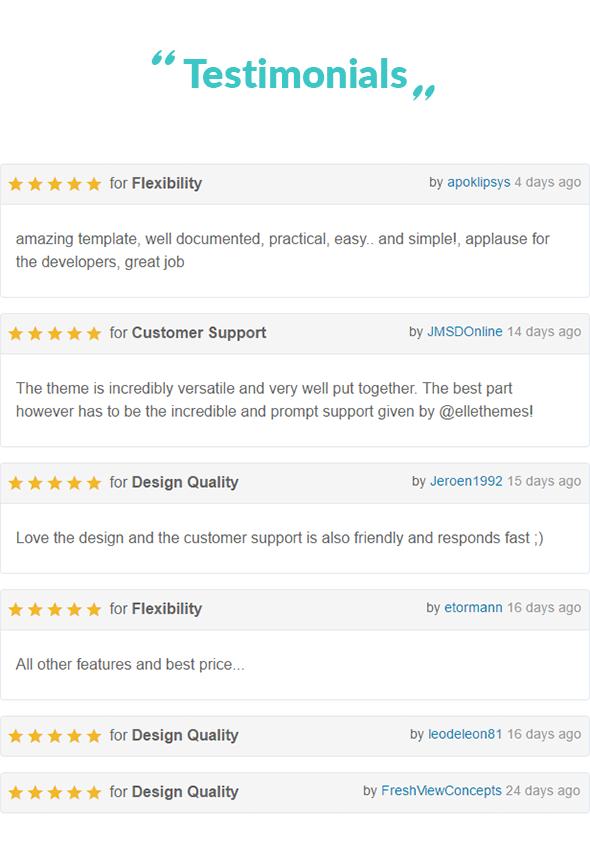 The Simple - Business WordPress Theme - 7