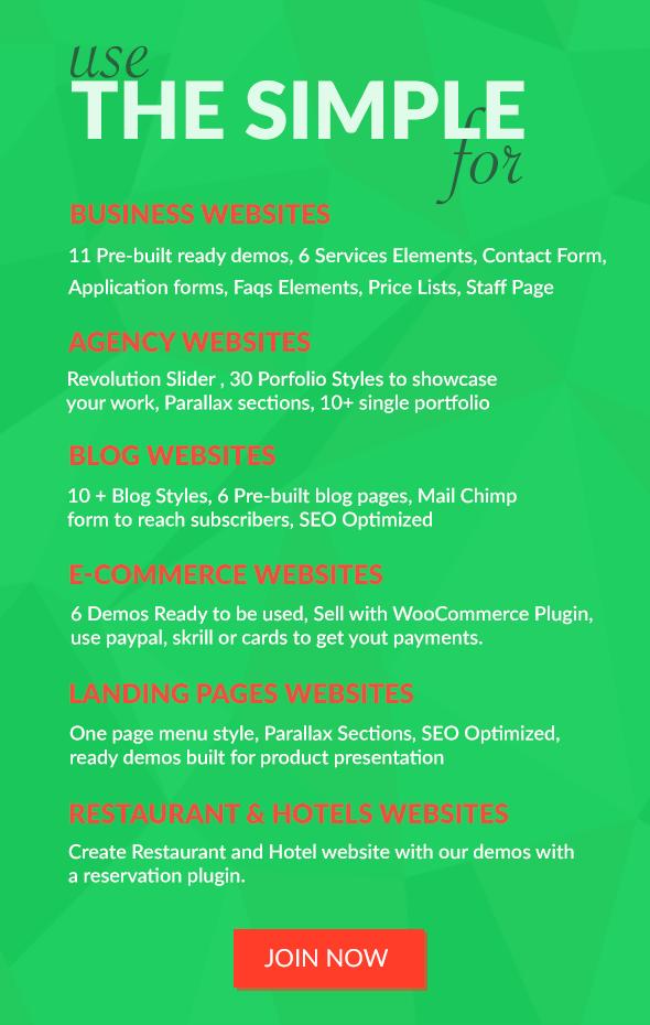 The Simple - Business WordPress Theme - 13