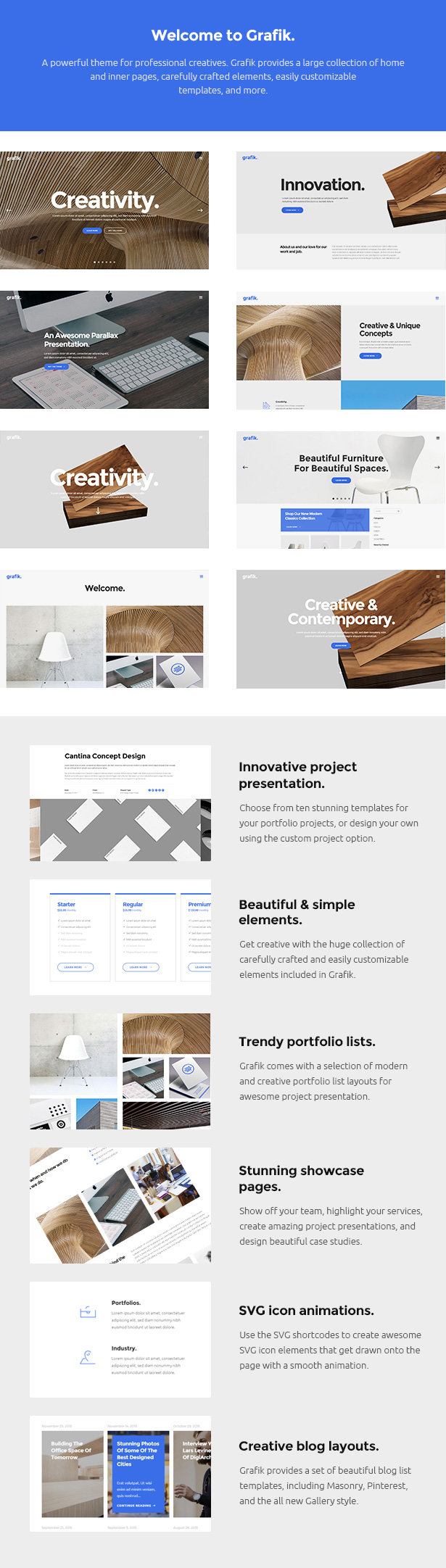 Grafik - Architecture and Design Portfolio Theme - 1