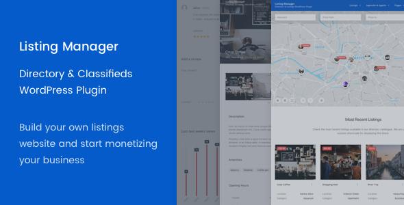 Listing Manager - WordPress Directory Plugin