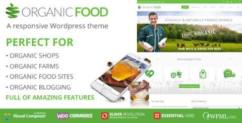 OrganicFood   Responsive WordPress Theme