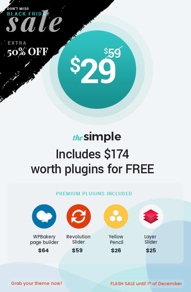 The Simple - Business WordPress Theme - 4