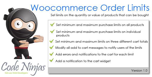 Woocommerce Purchase Limits