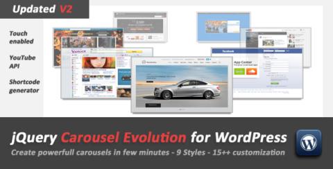 jQuery Carousel Evolution for WordPress