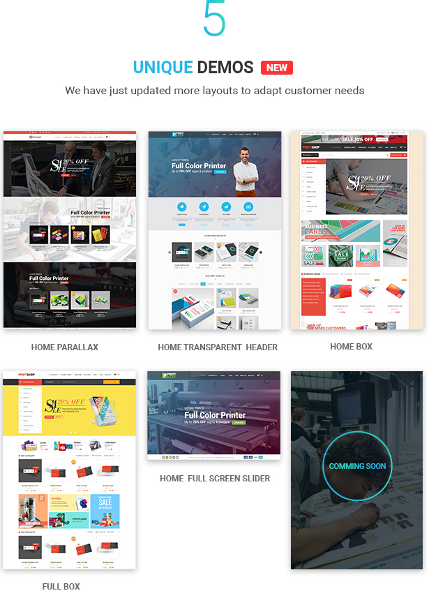 Printshop - WordPress Responsive Printing Theme - 8