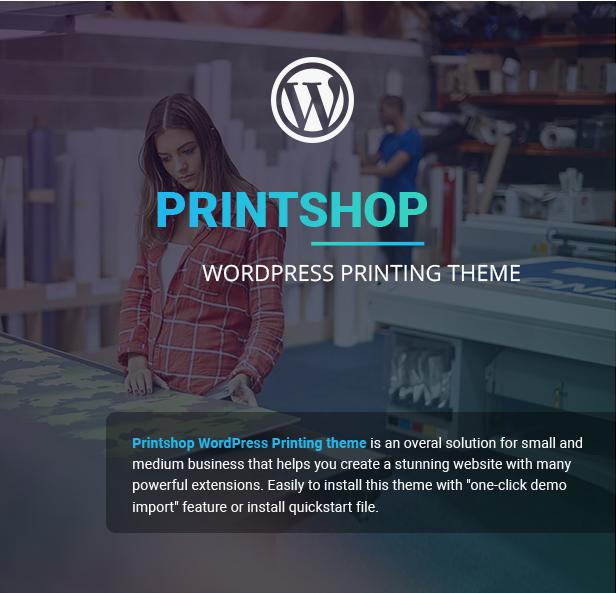 Printshop - WordPress Responsive Printing Theme - 6