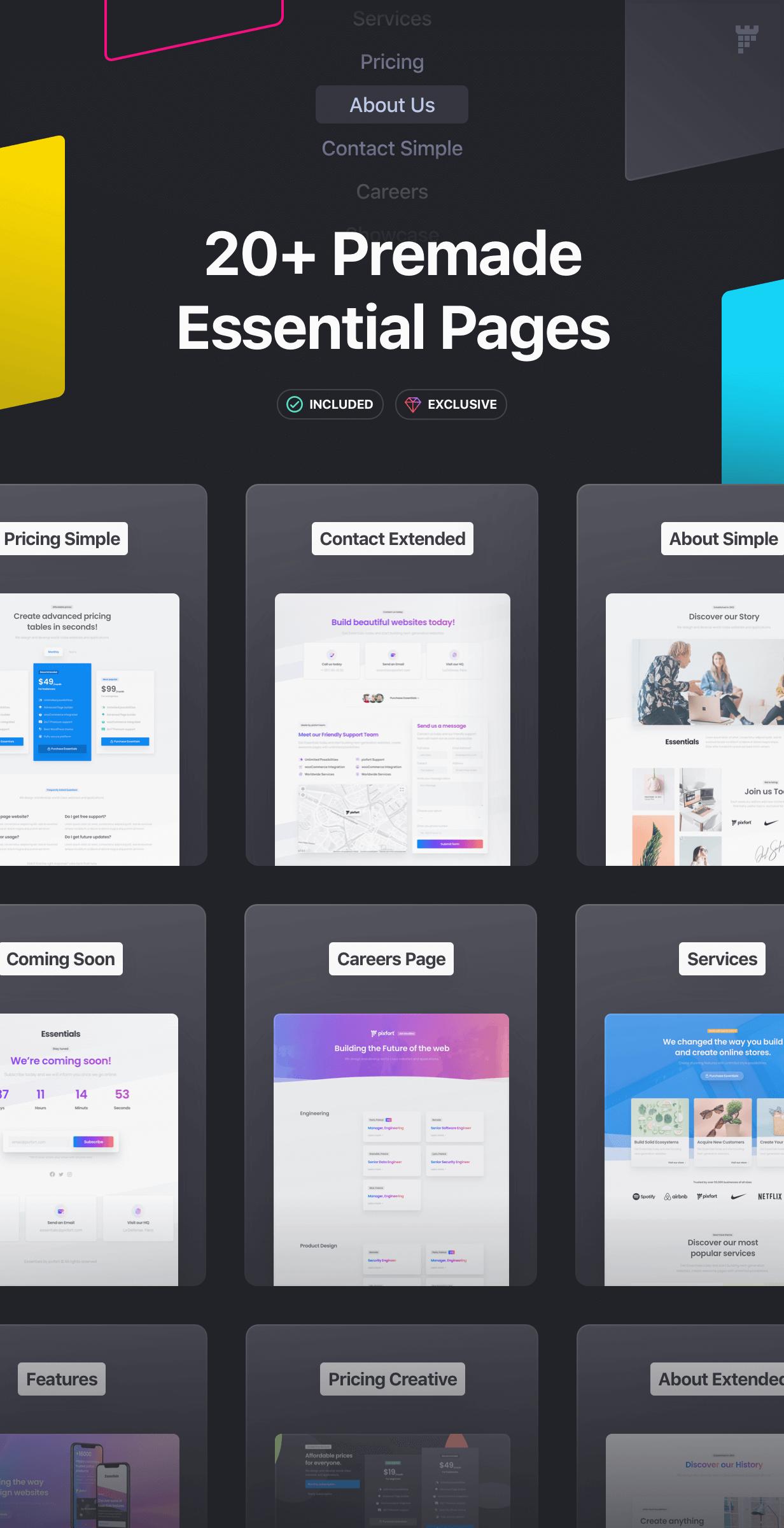 Essentials | Multipurpose WordPress Theme - 24