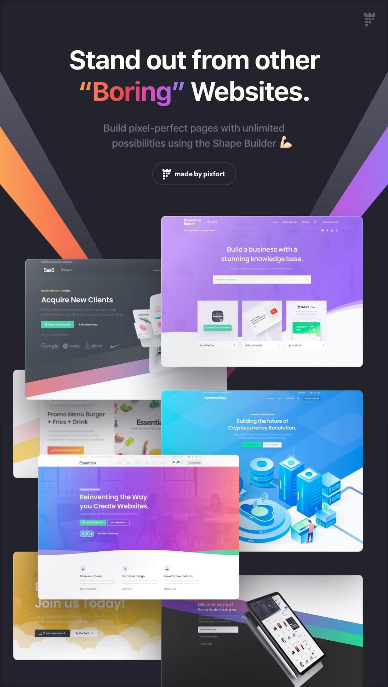 Essentials | Multipurpose WordPress Theme - 55