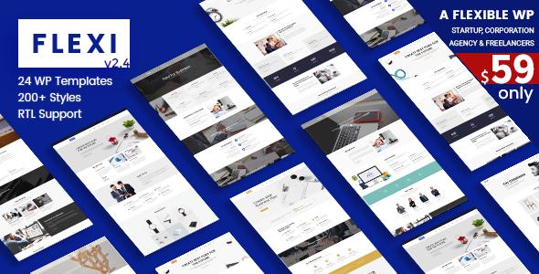 Flexi WP | Flexible WordPress Theme