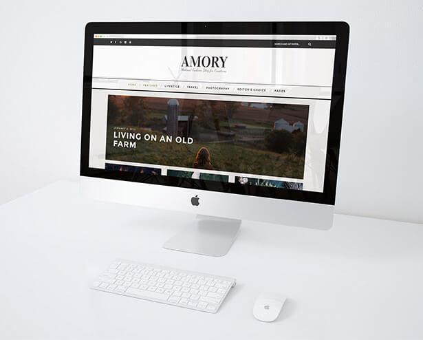 Amory - A Responsive WordPress Blog Theme - 6