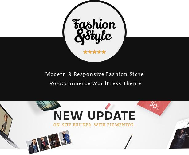 Best Fashion & Clothing eCommerce WordPress Theme 2019