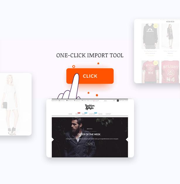 Multiple Header Fashion WooCommerce Responsive WordPress Theme