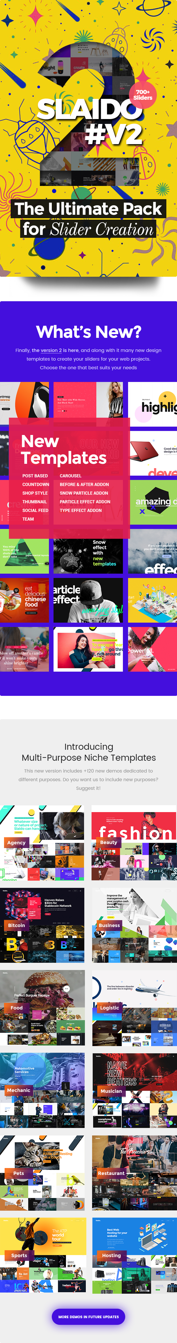 Slaido - Template Pack for Slider Revolution WordPress Plugin - 3