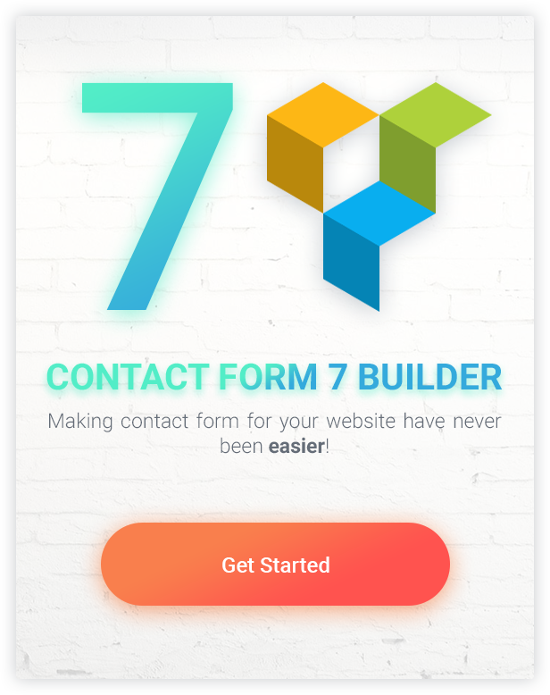 Moana - Contact Form 7 Builder use Visual Composer Intro