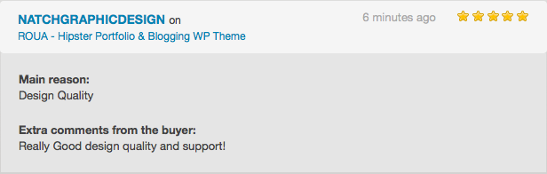 ROUA - Hipster Portfolio & Blogging WP Theme - 5