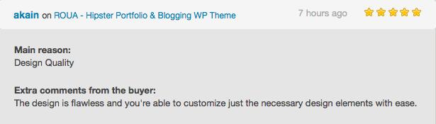 ROUA - Hipster Portfolio & Blogging WP Theme - 6