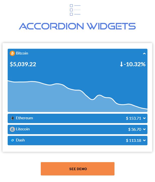Premium Cryptocurrency Widgets | WordPress Crypto Plugin - 12